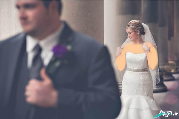 ژست های عروس و داماد
