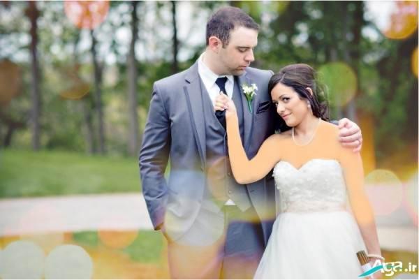 عکس آتلیه عروس و داماد
