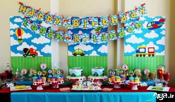 تزیینات تولد با تم پسرانه