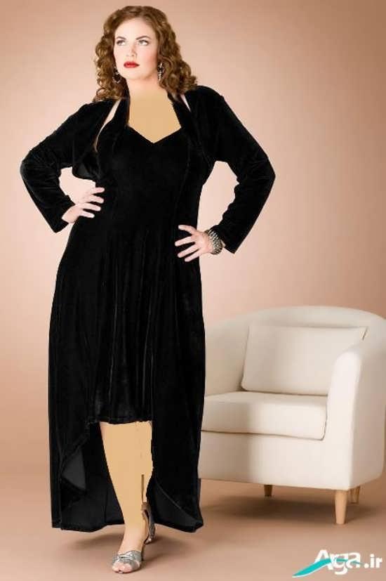 لباس مجلسی مخصوص بانوان چاق