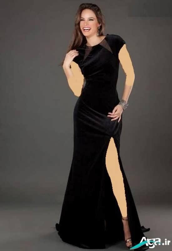 لباس مجلسی مخمل زیبا