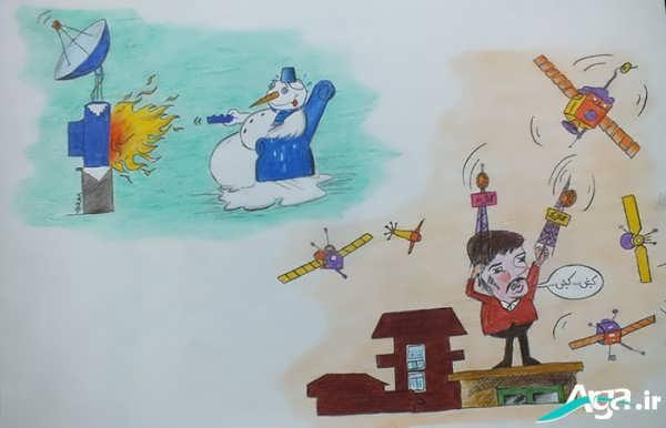 روزنامه های دیواری کاریکاتوری