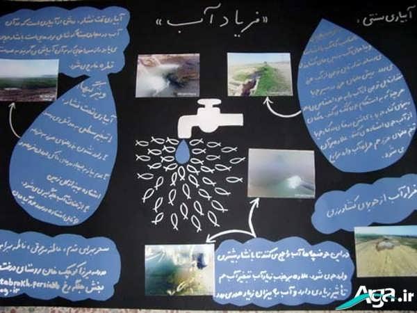 روش دوخت پرده پانچو چیستان لطیفه برای روزنامه دیواری