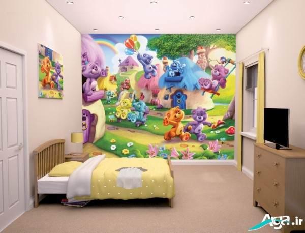 کاغذ دیواری کودکانه جدید