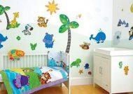 کاغذ دیواری اتاق کودک