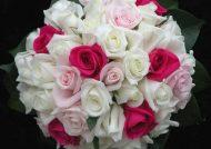 دسته گلی زیبا از گل رز