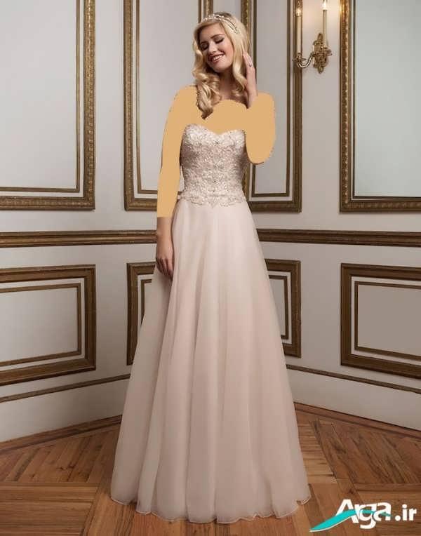 لباس عروس جذاب دکلته