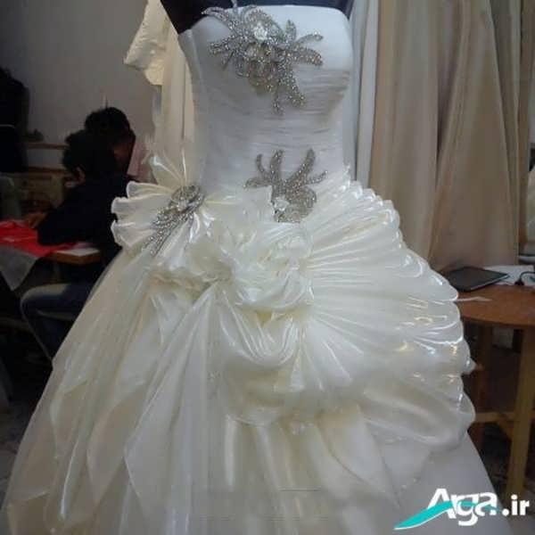 لباس عروس بسیار شیک