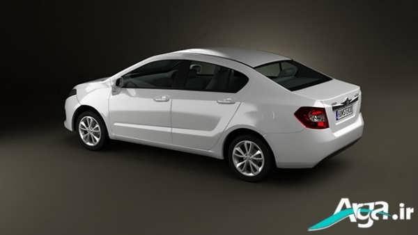 خودرو برلیانس سفید