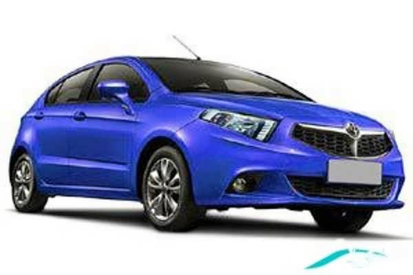 ماشین برلیانس آبی رنگ زیبا