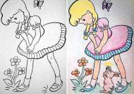رنگ آمیزی کودکان
