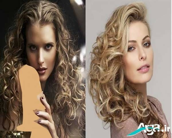 مدل موی فر زنانه