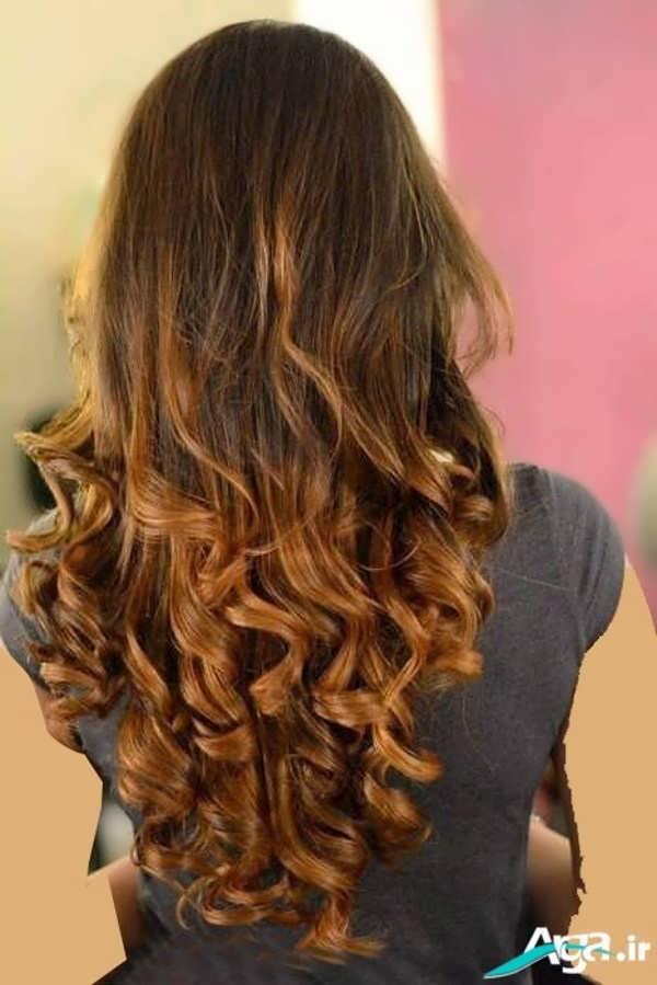 مدل موی فر باز ساده