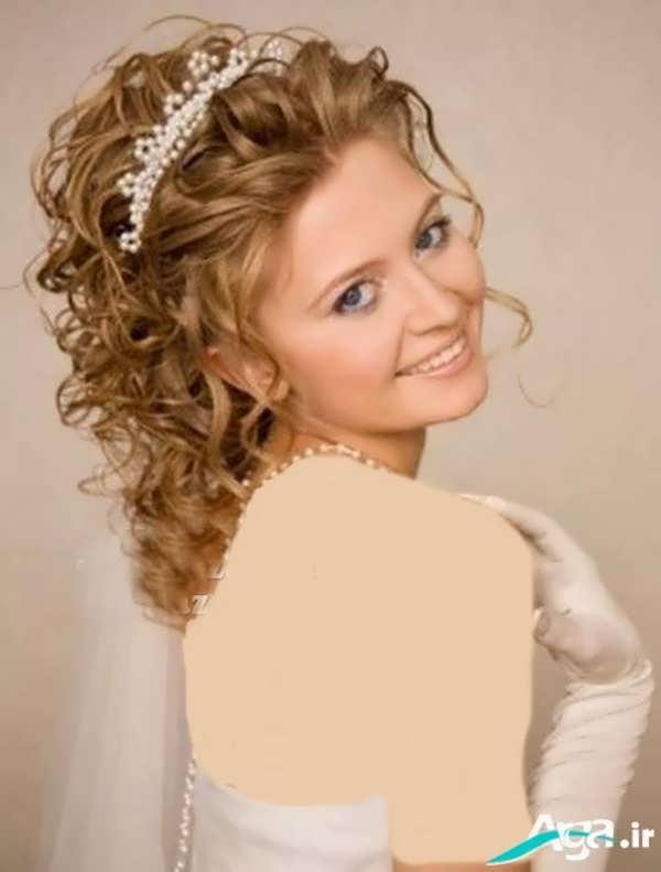 مدل موی فر باز عروس