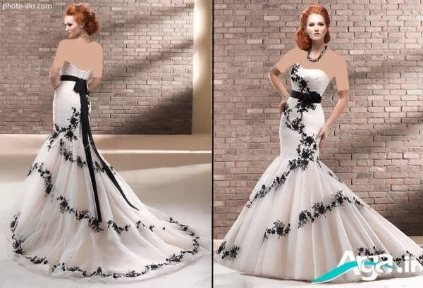 لباس عروس دانتل ماهی