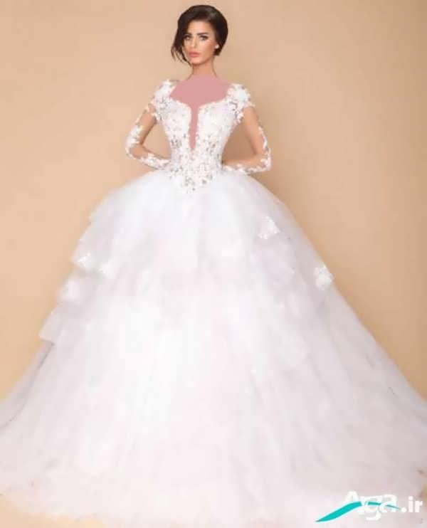 زیباترین لباس عروس های دانتل