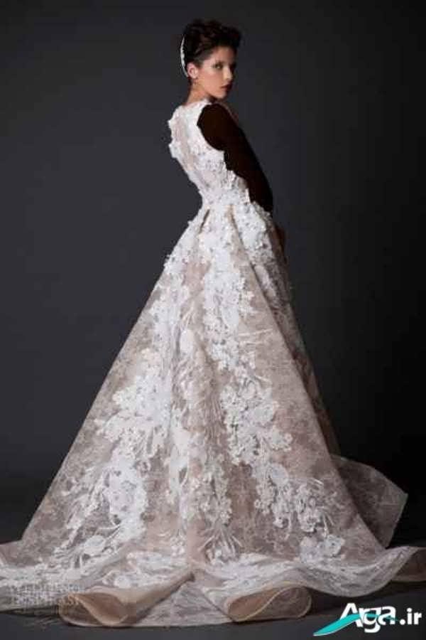 لباس عروس دانتل شیک
