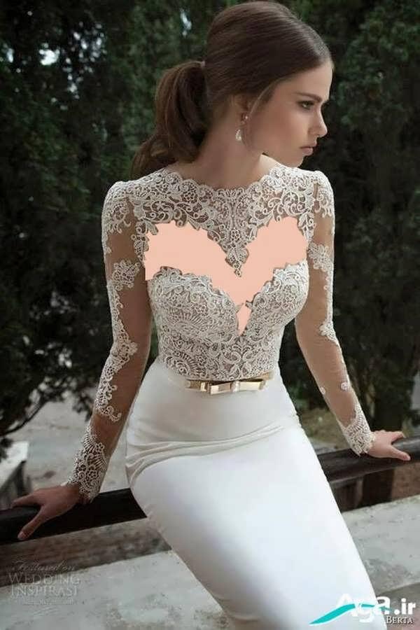 لباس عروسی شیک