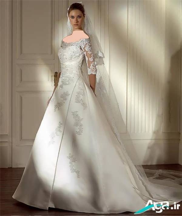 لباس عروسی زیبا