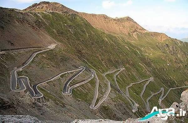 کوه و راه های ساخته شده