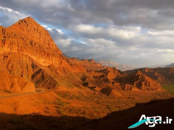 عکس کوه های مناطق گرم و خشک
