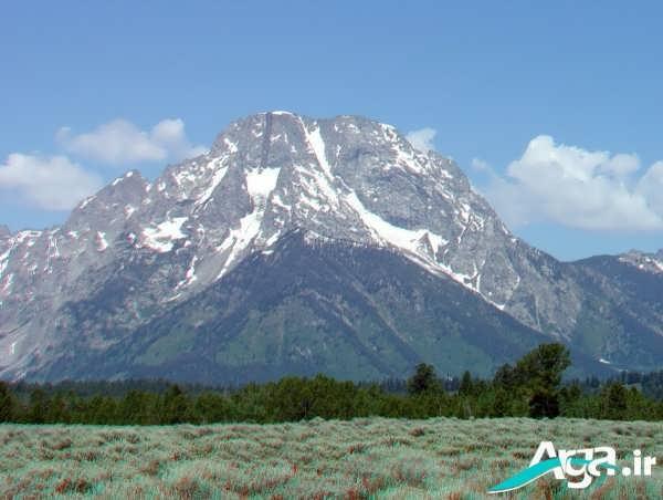 عکسی زیبا از کوهی زیبا