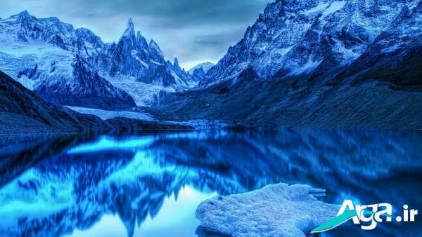 تصویری بسیار زیبا از کوه