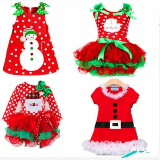 انواع لباس های بچه گانه با رنگ قرمز