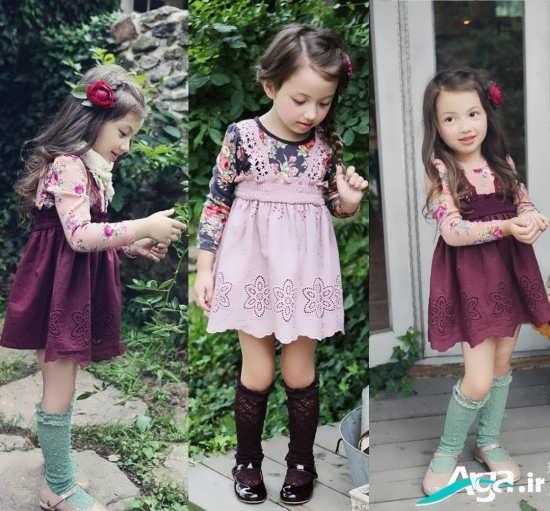 مدل های شیک و متنوع لباس بچه گانه