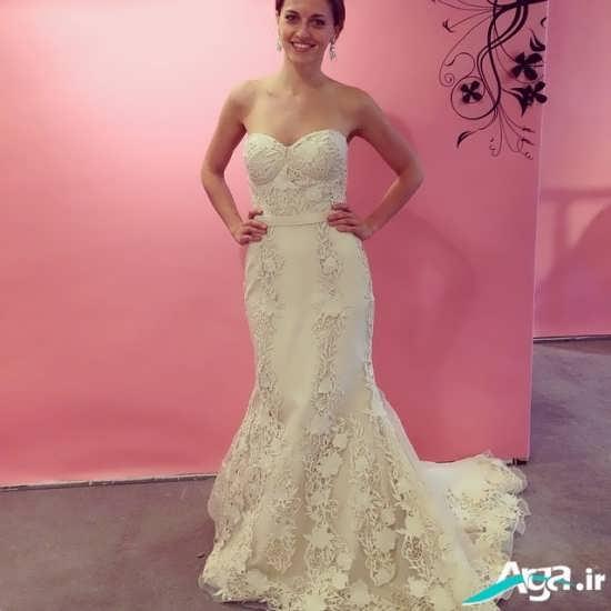 مدل های متنوع لباس عروس گیپور