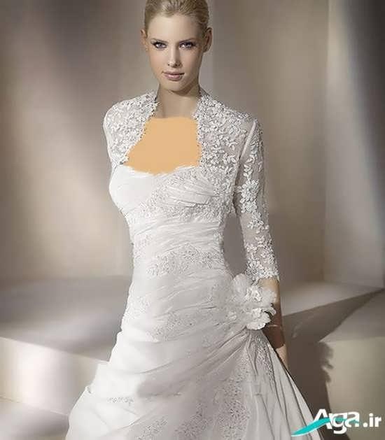 کت گیپور لباس عروس