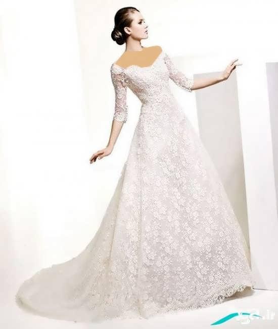لباس عروس گیپور شیک 2016