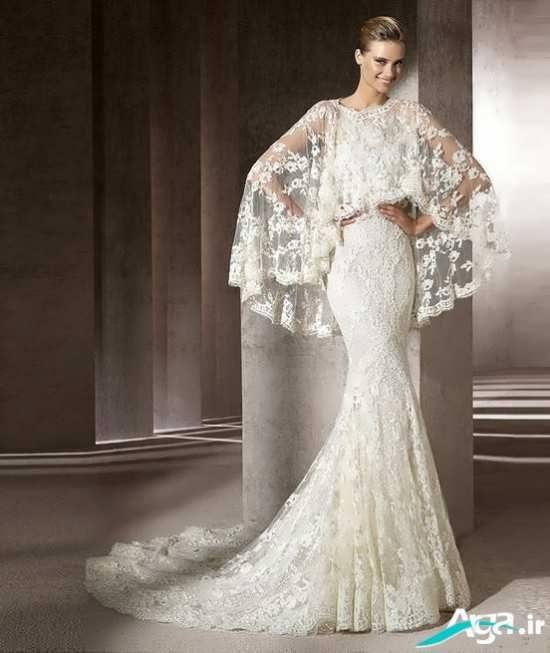 لباس عروس مدل گیپور