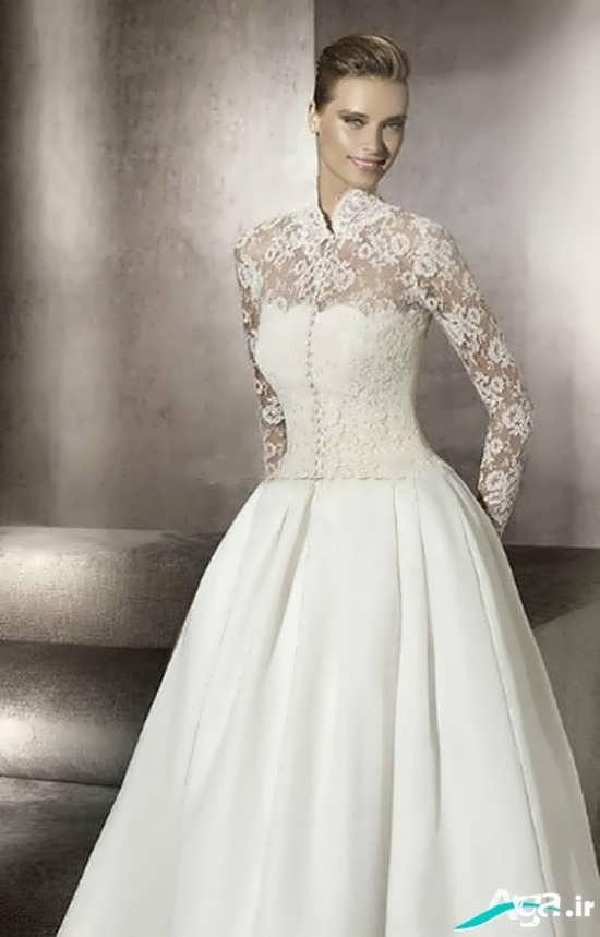 مدل های جدید لباس عروس زیبا و جذاب