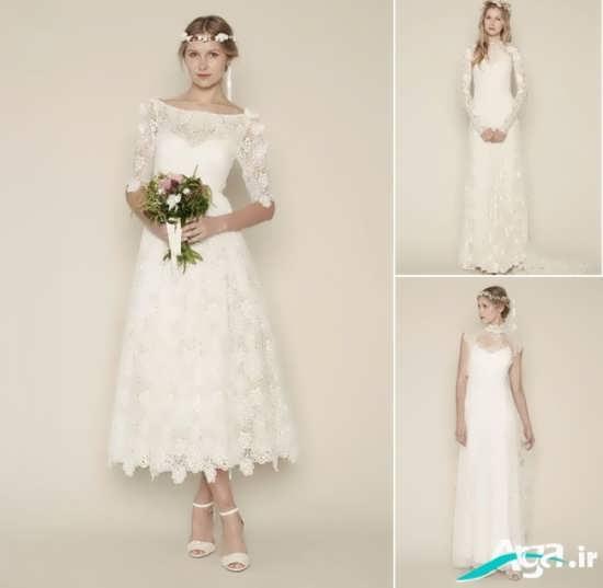 مدل های لباس عروس گیپور