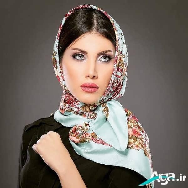 روسری طرح گل