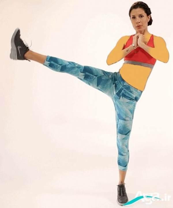 ورزش سفت کننده عضلات باسن