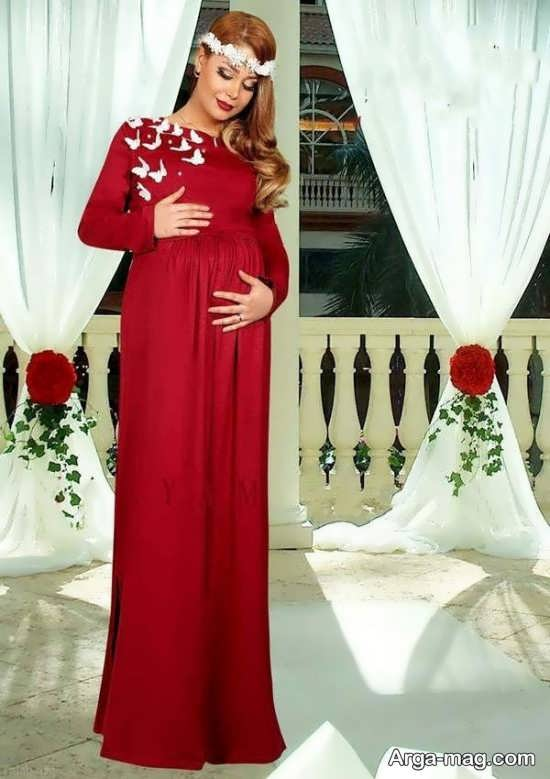 تصاویری از لباس مجلسی حاملگی