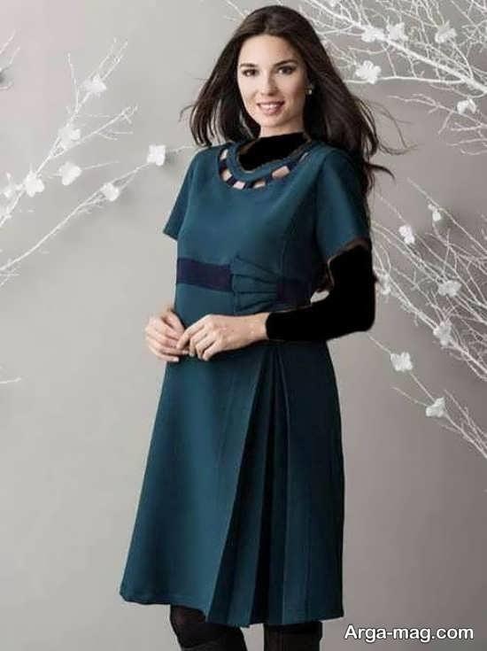 لباس مجلسی حاملگی با طراحی جدید