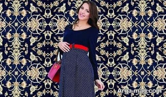 لباس مجلسی حاملگی ایرانی