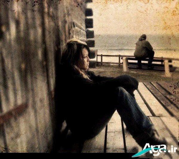عکس شکست عشقی و تنهایی