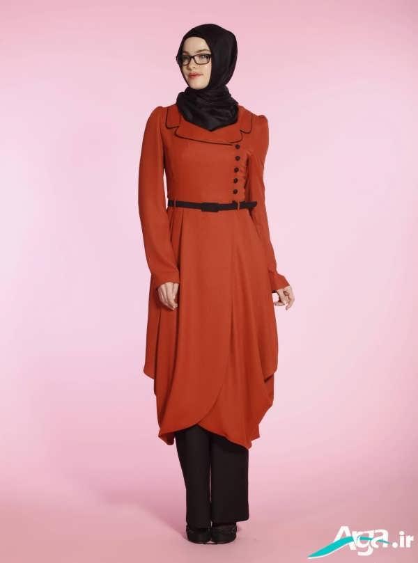 مدل مانتو ریون نارنجی