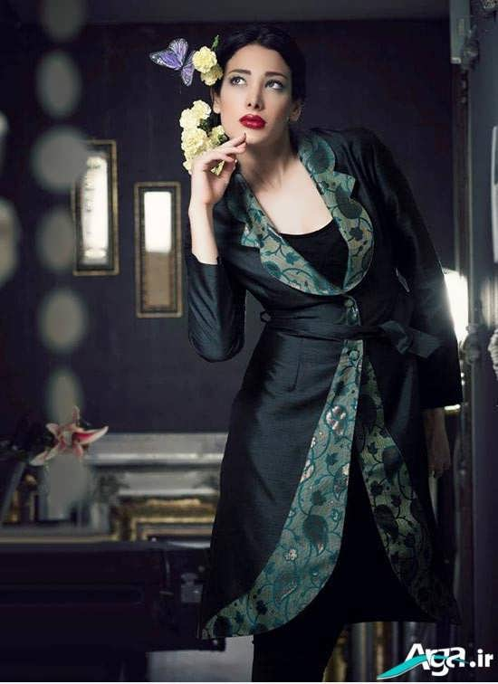 مدل مانتو ساتن ویژه سال 2016