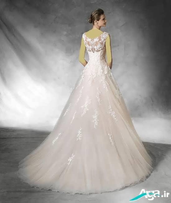انواع مدل های لباس عروس اروپایی