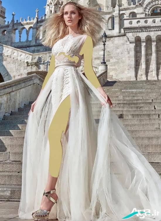 انواع مدل های زیبا و متفاوت لباس عروس اروپایی