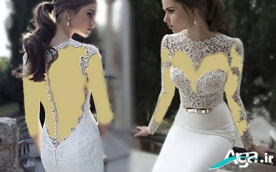 مدل لباس عروس اروپایی 2016 با طراحی مدرن