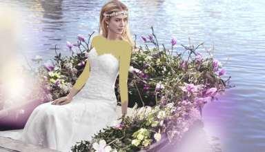 مدل لباس عروس اروپایی 2016