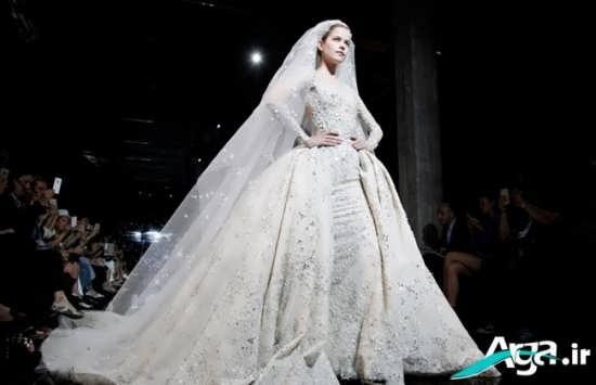 لباس عروس پوشیده اروپایی 2016