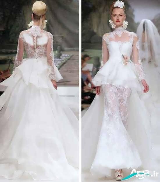 مدل لباس عروس اروپایی 2016 مدرن و زیبا