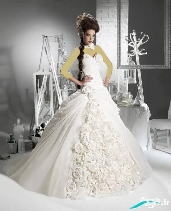 model of european bride dress (8)